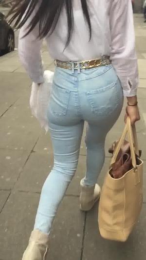 jeans ärsche